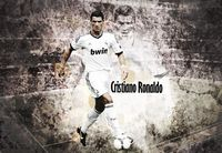 Cristiano Ronaldo Football Soccer Star Fabric Poster 20 X 13 Decor 44