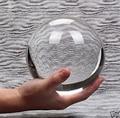 8cm Stand Asiatischen Seltene Natürliche Quarz Clear Healing Kristall Ball Kugel-in Statuen & Skulpturen aus Heim und Garten bei