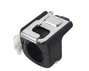 Image 2 - צינור הר סט אבזם מרחוק מחזיק קליפ עבור מרחוק של GoPro גיבור 7/6/5/4 מושב blcak פעולה מצלמה Selfie מקל אבזרים
