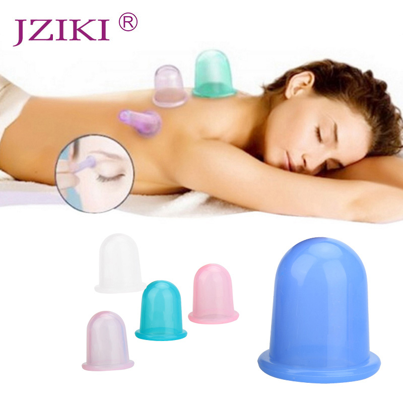 1pc Family Body Massage Helper Anti Cellulite Vacuum Silicone Cupping Cups Health Care Drop Shopping 4pcs body anti aging effect suction silicone massage cupping therapy improving skin health anti cellulite cups small size