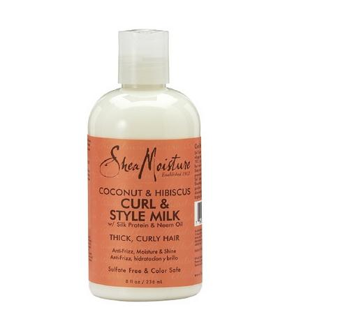 Free delivery / American SheaMoisture milk coconut Hibiscus curled hair styling / styling milk 8 oz (236 ml). free shipping got2b ultra glued invincible styling gel 6 oz 170g