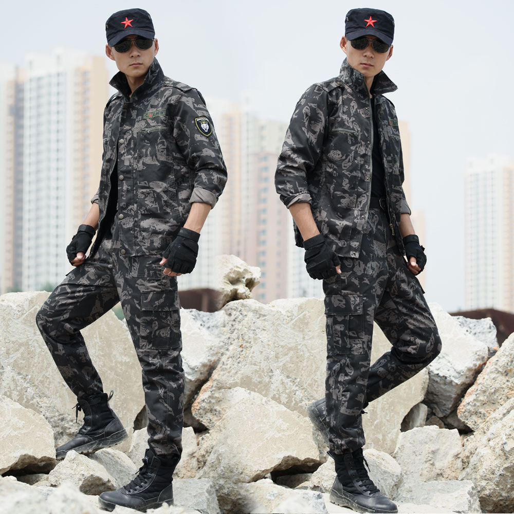 Outdoor Mens Hunting Clothes Suits Jacket + Pants Army Tactical Military Outfit Camouflage Clothing Uniforms Multicam Tracksuit outdoor angel army fans military clothing camouflage suit wear cotton uniforms work service tactical training set jacket pants