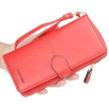 PU Leather Design Wallet Luxury Brand Women Wallet Zipper &a