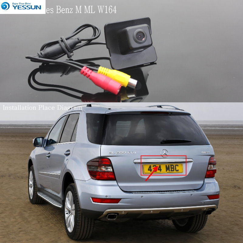 YESSUN For Mercedes Benz M ML W164 / Back up Reversing Camera / Car Reverse Parking Camera / Rear View Camera / HD CCD
