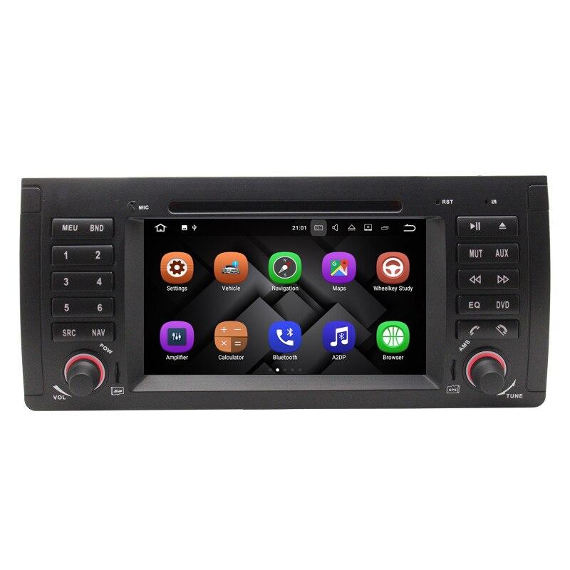Android 7 1 1024 600 Quad Core Car DVD Player GPS Radio for BMW E53 E39