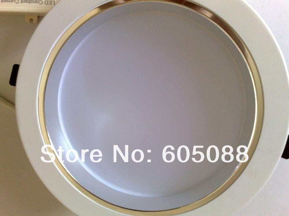 7 30 Вт потолочные встраиваемые triac dimmable AC110/220 В гладкой приглушить цвет белый 2220lm 10 шт./лот DHL бесплатная доставка