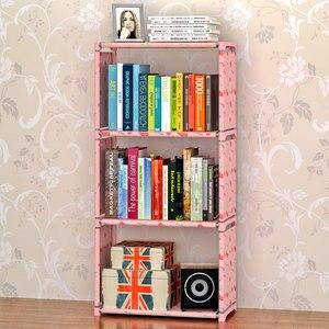 Image 1 - GIANTEX Bookshelf Storage Shelve for books Children book rack Bookcase for home furniture Boekenkast Librero estanteria kitaplik