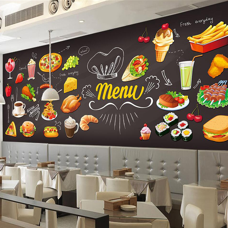 Online get cheap hot wallpaper alibaba group for Mural coffee