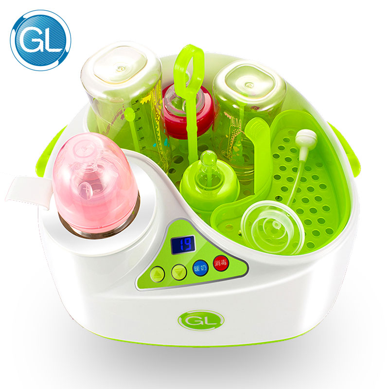 2 in 1 baby Bottle Sterilizer Multifunction Milk Warming Sterilizing Baby Feeding Bottle Big Capacity LCD Dislpay Bottle Warmer аккумуляторная дрель шуруповерт bort bab 12n 7 p
