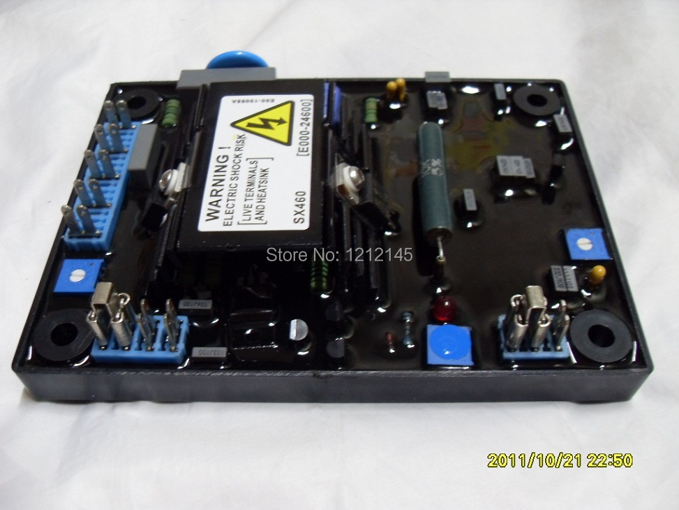 SX460 AVR For stamford alternator,SX460 Voltage Regulator sx460 free shipping