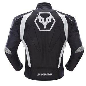 Image 2 - Duhan Мужская куртка с 5 защитными шестернями для мотокросса, полная защита корпуса, водонепроницаемые куртки D089