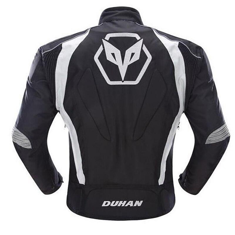 Duhan veste de protection pour hommes moto 5 vêtements de protection vestes de motocross protection complète de l'armure corporelle vestes imperméables D089