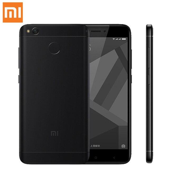 "Global Version Xiaomi Redmi 4X 4 X PRO Smartphone 3GB 32GB 5.0"" HD Screen Snapdragon 435 Octa Core 4100mAh 13.0MP LDD LTE OTA"