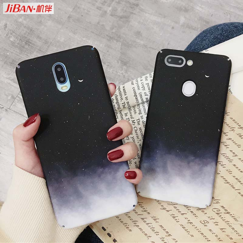 Phone Bags & Cases Realistic Jiban Moon Space Lunar Eclipse Phone Case For Huawei Nova2s Nova3i Honor 10 Cases Frosted Hard Plastic Cover For Huawei Mate20p Reliable Performance Fitted Cases