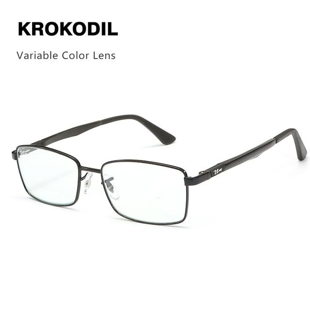 2019 Men S Color Change Glasses Classic Brand Square Sunglasses
