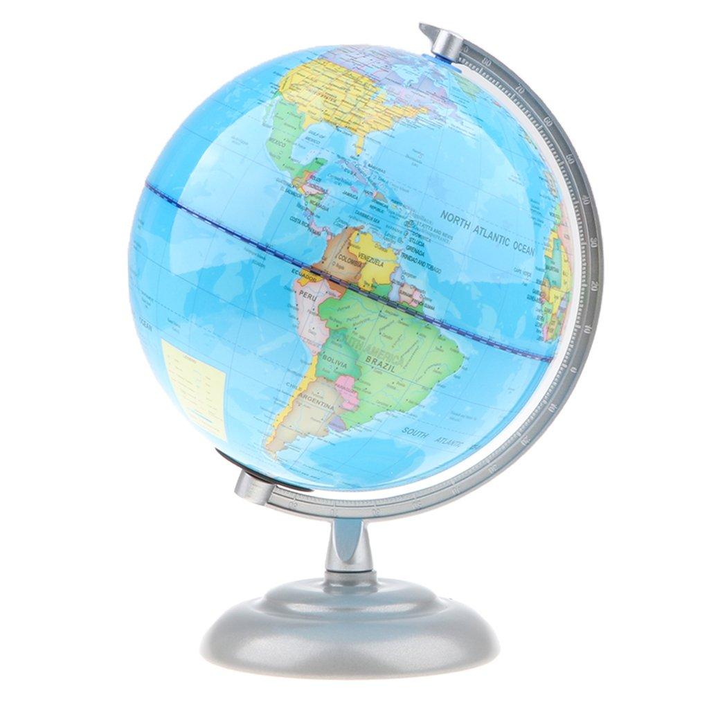 Lumière LED USB 20 cm monde terre Globe carte géographie apprentissage jouet éducatif bureau bureau décoration cadeau pour enfants adultes