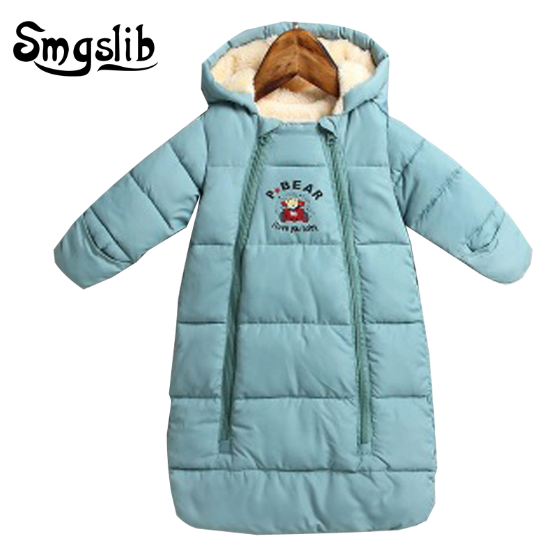Baby Sleeping Bag Winter Thick Warm Newborns Sleeping Bag Kids Toddler Sleeping Bag For Stroller Stroller Accessory Wheelchair