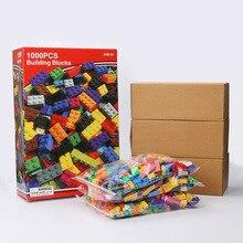 1000pcs City Building Blocks Sets Legoingls Diy Creative Bricks Friends Creator Parts Brinquedos Educational Toys For Children цены