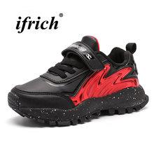161ab32c37f Crianças Meninos Meninas Correndo Sapatos de Ouro Vermelho Caçoa As  Sapatilhas de Atletismo Sapatos de Corrida