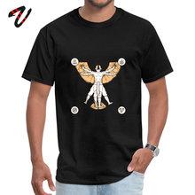 Vitruvian Aang Man Haikyuu Slim Fit Tops Tees O Neck Autumn Pure Top T-shirts Crazy Short Sleeve T-Shirt