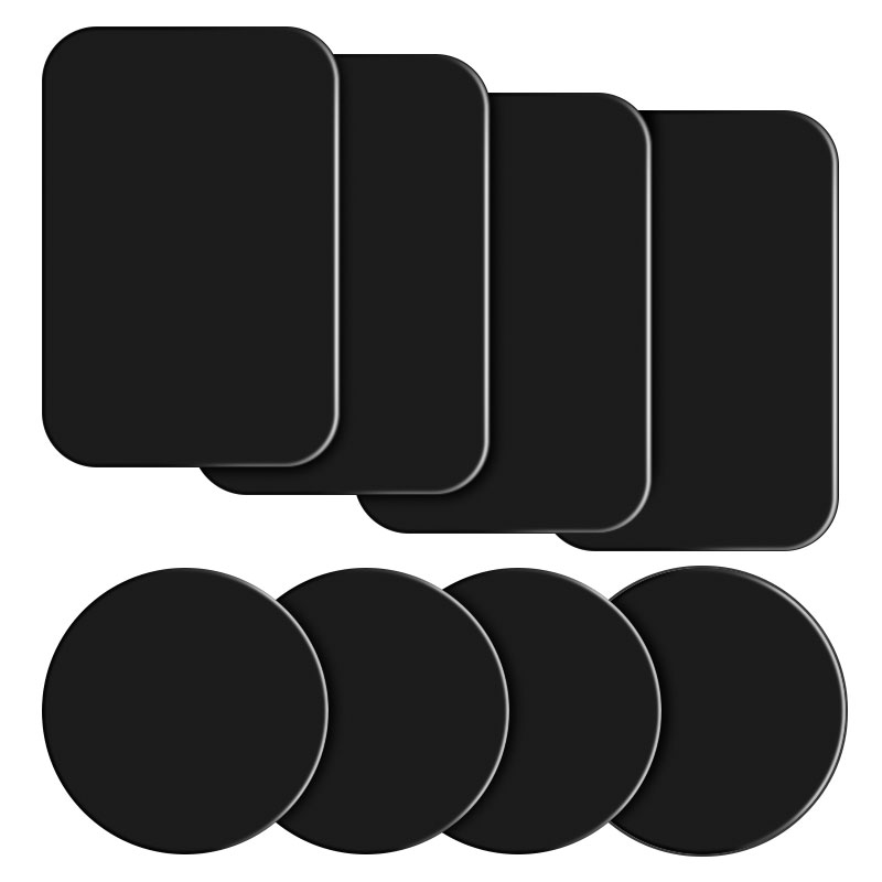 Universal Magnet Holder Accessories Replacement Metal Plate Magnetic Car Phone Holder Metal Plate Iron Plate With Adhesive