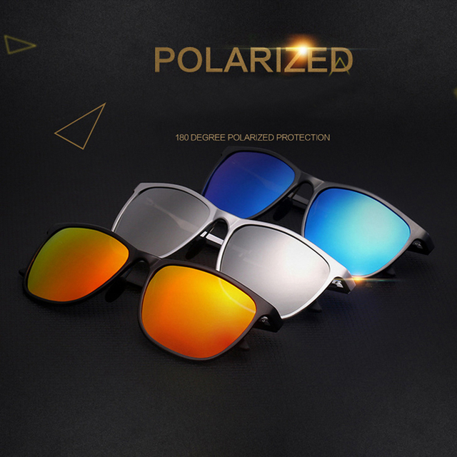 ELITERA Aluminum Magnesium Sunglasses Polarized Sports Men Coating Mirror Driving Sun Glasses oculos Male Eyewear Accessories