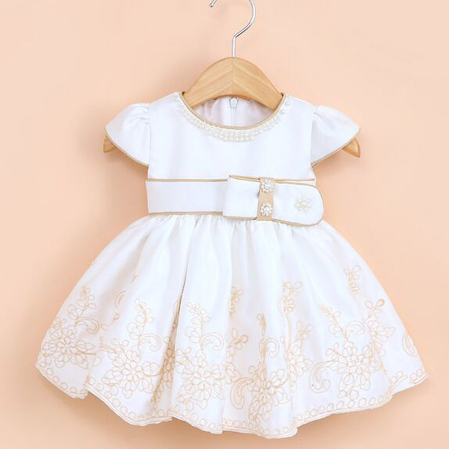 67af1cd16 Newborn Baby Girl Dresses Vestidos De Menina Princess Infant Gowns ...