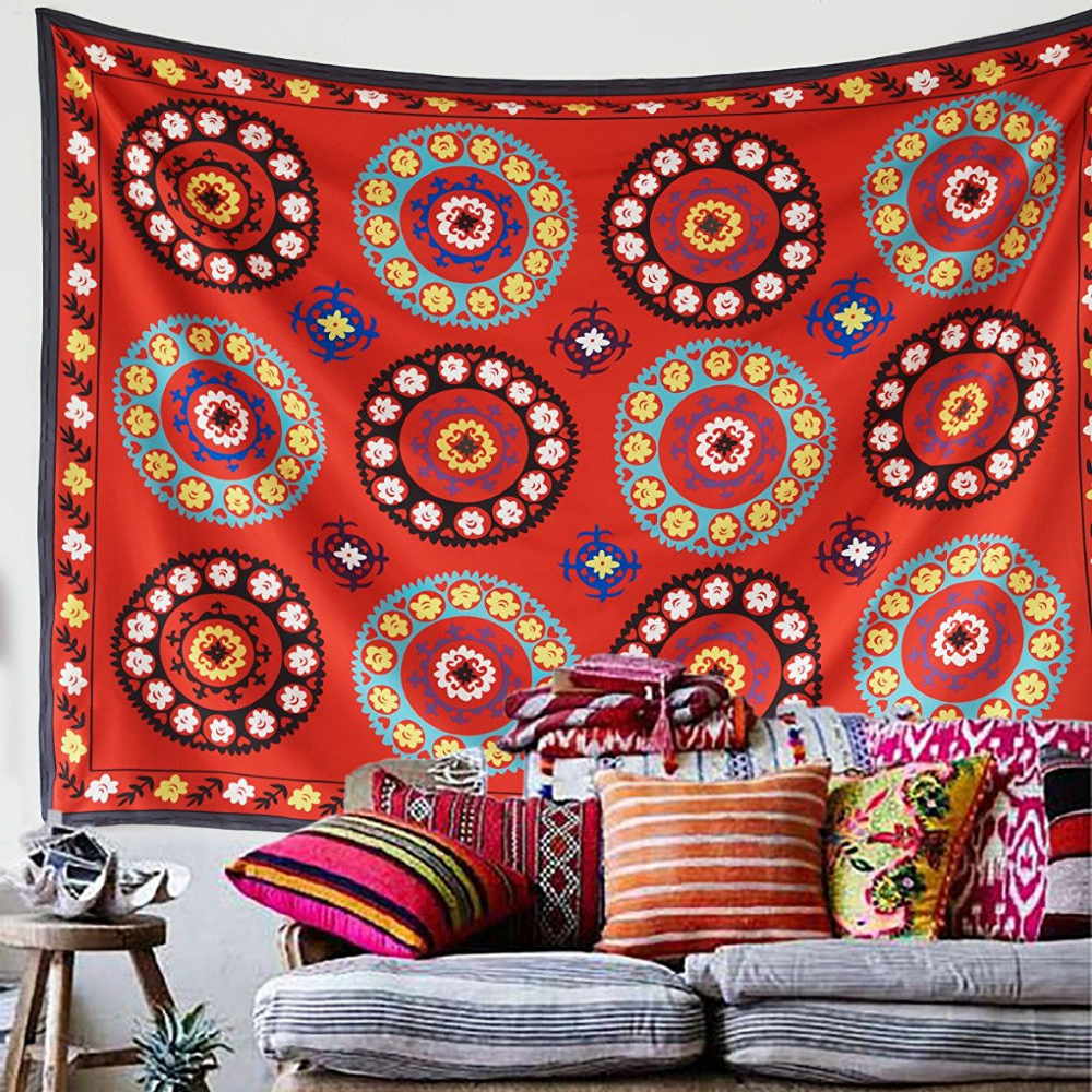 Cilected Mandala Endless Hippie Tapestry Decor Hanging
