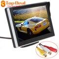 Nueva 5 Pulgadas TFT-LCD Digital de Visión Trasera del Monitor LCD Display para VCD/DVD/GPS/Cámara con Frontal de Membrana