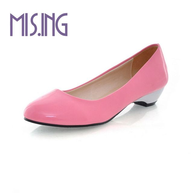 Big size 34-43 women shoes Patent Leather women flat shoes Solid Pointed Toe Office and Career lady shoes comfortable lazy shoes