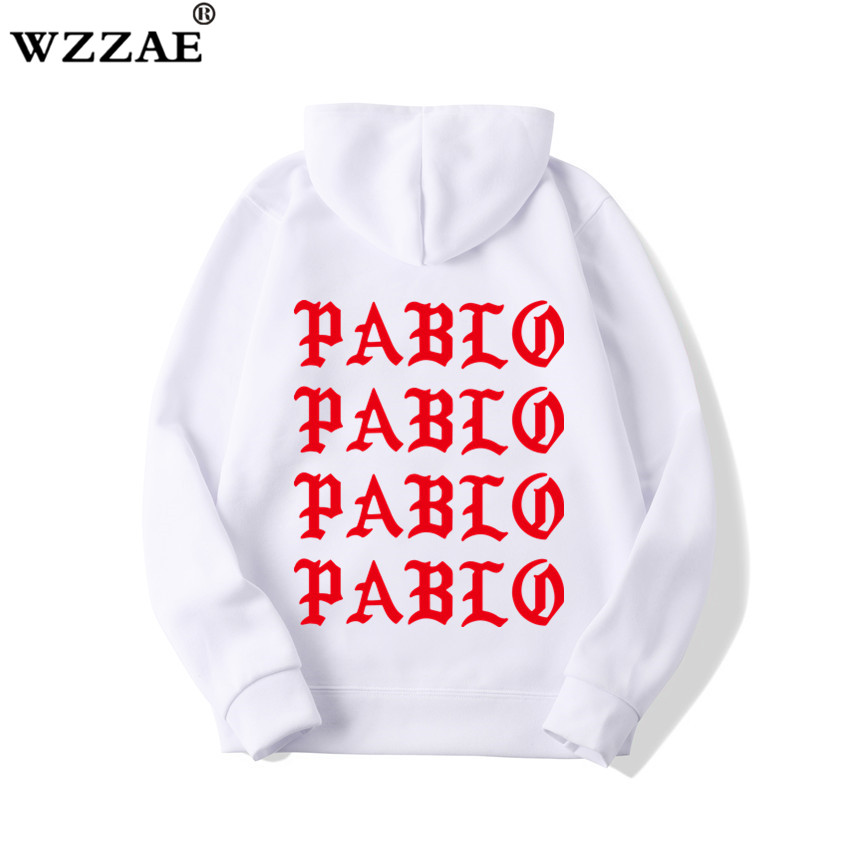 2019 Fashion Assc Club Brand Hoodie Sweatshirt Men And Women Paranoid Letter Print Hoodie Men Kanye West Pablo Anti-Social Hoodi