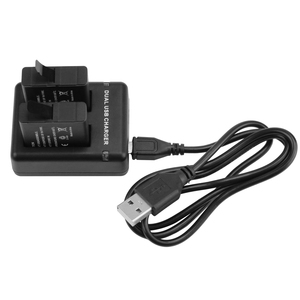 Image 5 - לירות כפולה/שלוש יציאת חריץ AHDBT 501 סוללה מטען עבור GoPro גיבור 8 7 6 5 שחור מצלמת עם USB כבל עבור ללכת פרו גיבור 8 אבזר