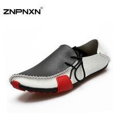 Fashion Men Shoes Summer Cool Winter Warm Leather Shoes Men's Flats Shoes Low Mens casual Oxford Shoe for Men