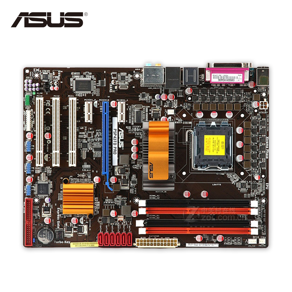 все цены на Asus P5P43TD PRO Original Used Desktop Motherboard P43 Socket LGA 775 DDR3 16G SATA3 USB2.0 ATX On Sale онлайн