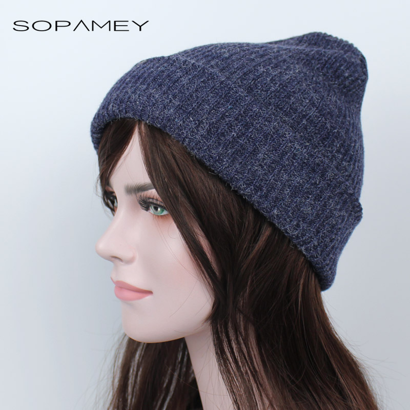 Women Men Winter Knitted Cap Unisex Folds Casual Beanies Hat Solid Color Stripe Hip-Hop Skullies Beanie Hat Gorros Bones 2017 fashion winter cap women men casual hip hop hats knitted skullies beanie hat for unisex knitted cap gorros beanies bonnet