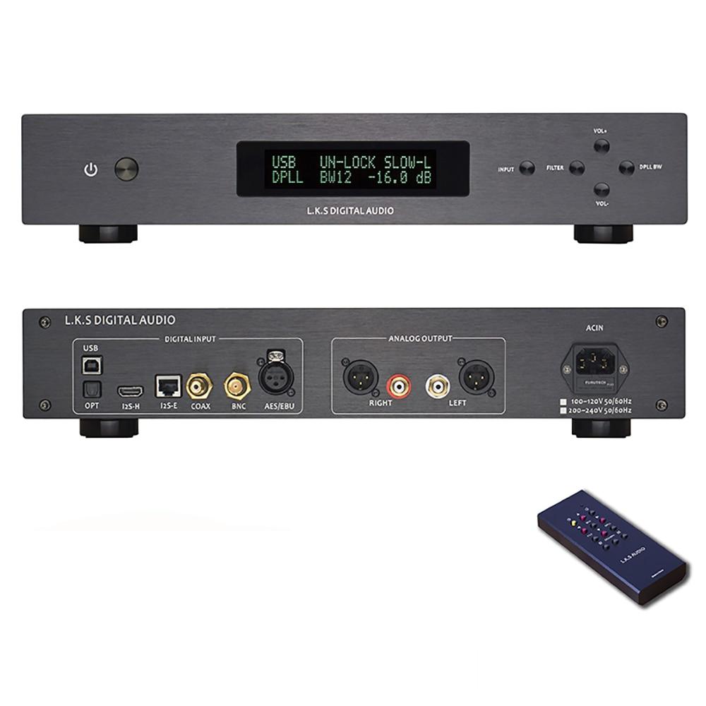 L.k.s Audio Mh-da004 Dual Es9038pro Flagship Dac Dsd Eingang Koaxial Aes Ebu Für Dop Usb I2s Optical Audio Decoder D/a Konverter Reines Und Mildes Aroma Tragbares Audio & Video