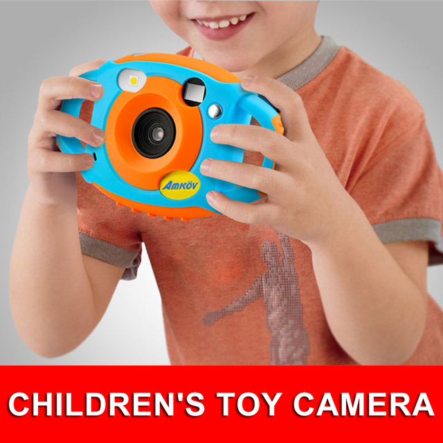 Cute Digital Video Camera Max. 5 Mega Pixels Built-in Lithium Battery Gift New Year Present for Kids Children Boys Girls
