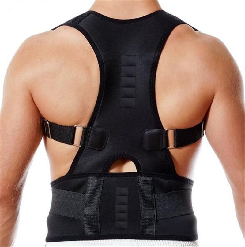 Chaves e Suporta mulheres dos homens Back Belt : Posture Belt
