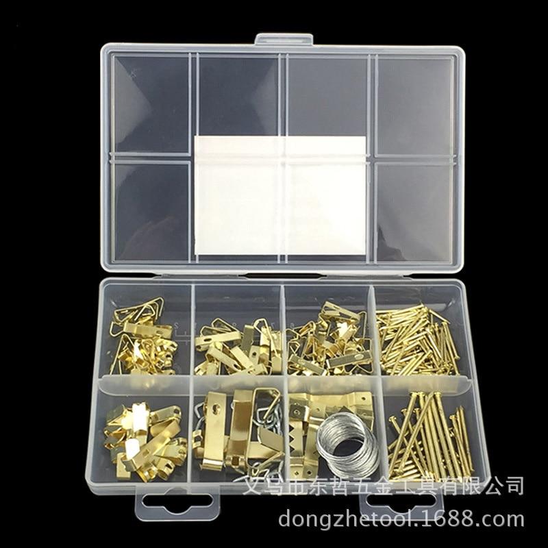 200 piezas imagen colgante HARDWARE Kit carpeta gancho pequeño ...