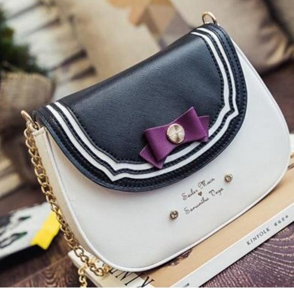 bolsa de couro cadeia bolsa 1 : Luxury Women Designer Handbags High Quality Brand