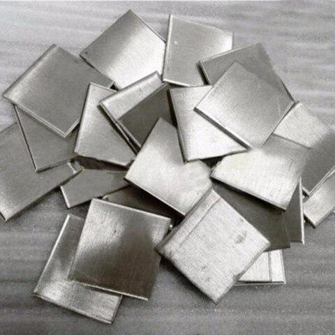 Puro do Níquel da Folha do Lingote do Níquel da Pureza Alta de Ossieao 99.99% para Galvanoplastia Metal 100g