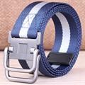 HRM Canvas belt male casual canvas belt men belt buckle men bicyclic Korean students lengthen belt