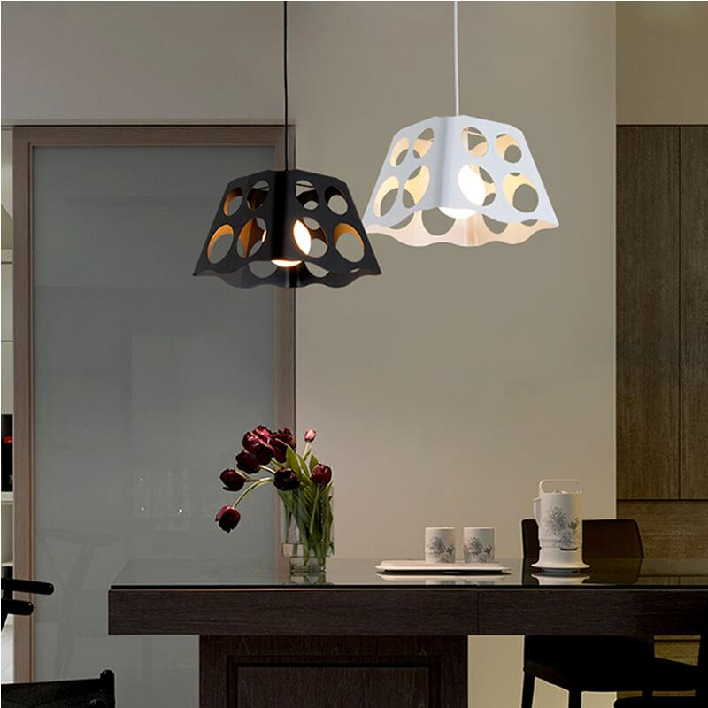 Restaurant Pendant Lights creative personality Nordic pendant lamp dining room lights modern hanging lamps a1 led living room dining modern pendant lights ring fashion personality creative pendant lamp art bedroom hall pendant lamps