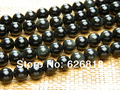 Freeshipping (3 strands/set) wholesale  natural 10mm obsidian round stone beads for bracelet