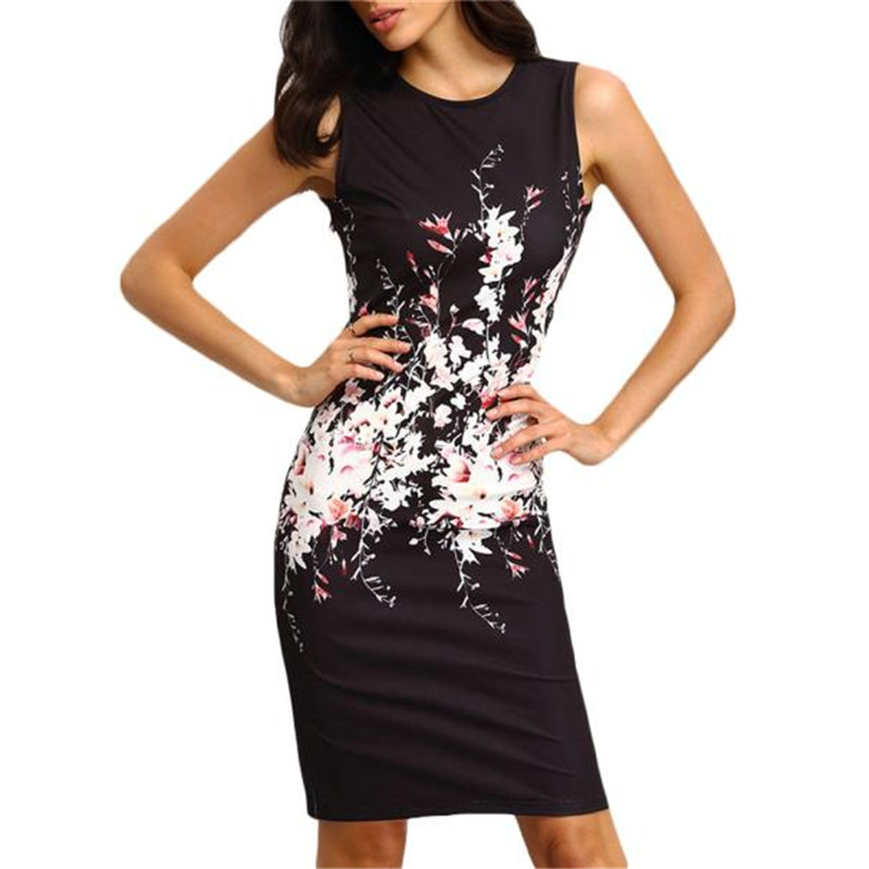 snowshine YLW  Sexy Summer Women Sleeveless Bodycon Ladies Evening Party Dress free shipping