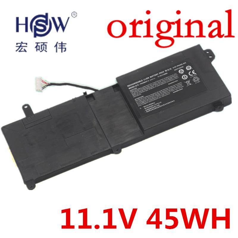 HSW 11.1V 45WH P640BAT-3 Battery for Thunderobot ST-R1 ST 911ST 6-87-P640S-423 3ICP7/65/80 6-87-P640S-42 AKKU origianl clevo 6 87 n350s 4d7 6 87 n350s 4d8 n350bat 6 n350bat 9 laptop battery