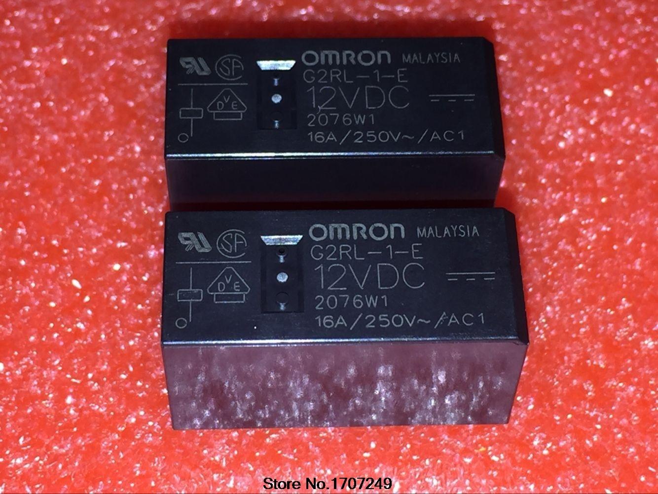 Free Shipping new original Omron relay 10pcs/lot G2RL-1-E-12VDC G2RL-1-E-DC12V G2RL-1-E-12V G2RL-1-E 12VDC relay oa 5611 48 2502l1 61 12vdc oa5611 48 2502l1 61 oa 5611 48 2502l1 61 oa5611482502l161 12vdc dc12v 12v dip10 1pcs lot