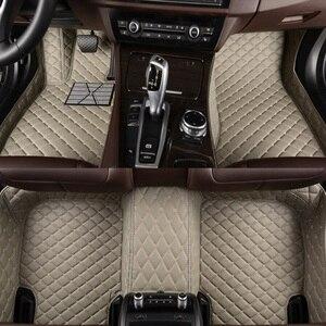 Image 3 - kalaisike Custom car floor mats for Hyundai All Models terracan accent azera lantra elantra tucson iX25 i30 iX35 Sonata