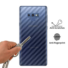 3D Carbon Fiber Soft Sticker Film For Samsung Galaxy S8 S9 S8Plus S9Plus S7 S6 S5 Edge Note 9 8 Back Screen Protector Film lantro js phone sceen protector for samsung s7 edge s7 s6 edge s6 edge s8 s8plus s9 s9plus 3d cured full screen 0 2mm thickness