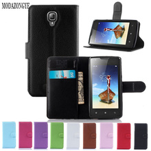 Luxury Wallet PU Leather Case Cover For Lenovo A1000 Case Flip Phone Case Back Cover For Lenovo A 1000 With Card Holder Stand
